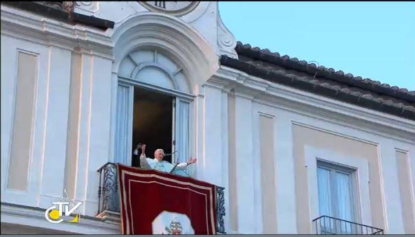 The final Benediction of Pope Benedict XVI