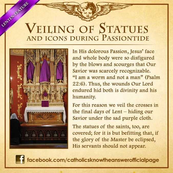 The veiling of the Statues