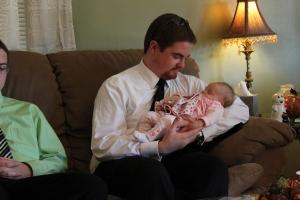 My new niece Winnie!