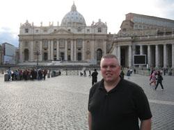 Joe Bland in Rome