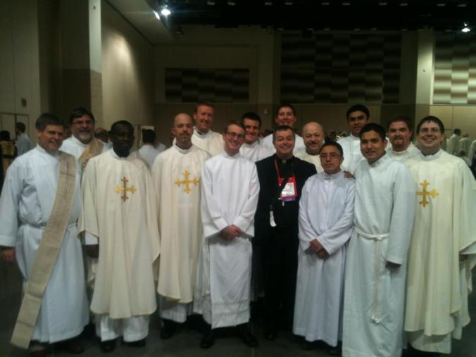 NCYC -  Clergy, well represented!!