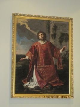 St.  Stephen: protomartyr, deacon, and patron of the Diocese of Owensboro