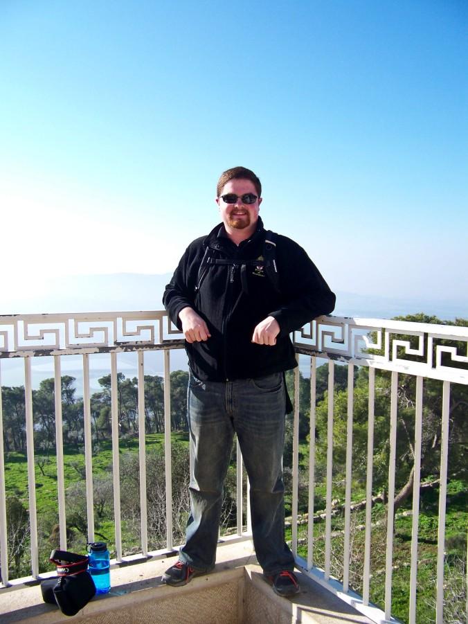 Me, on Mt. Tabor