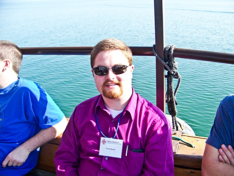Me, on the Sea of Galilee