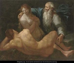 Carpioni - Creation of Eve from Adam