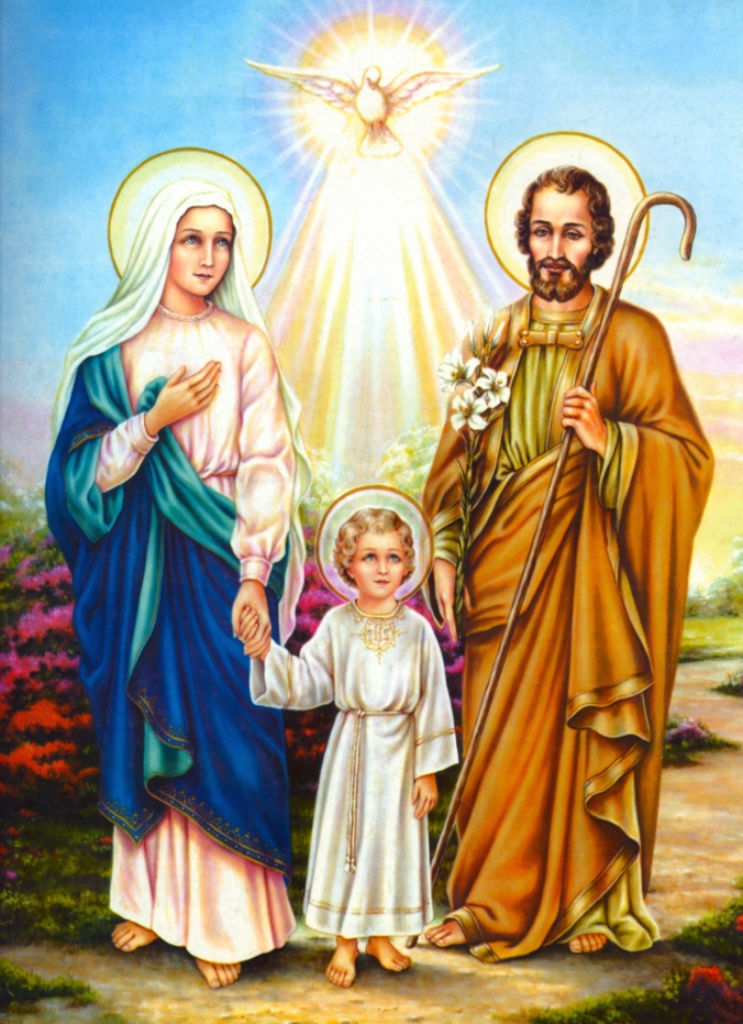 Jesus, Mary, Joseph - Pray for us!