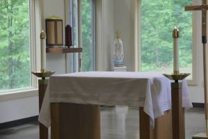 Like the Consecrated Altar, so too are we consecrated for a Sacred Purpose