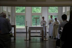 After the Consecration of the Altar
