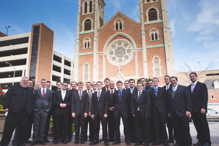 Bruté Seminarians attend the Right to Life Dinner - Indianapolis 2014