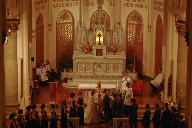 The Wedding Party and Ministers